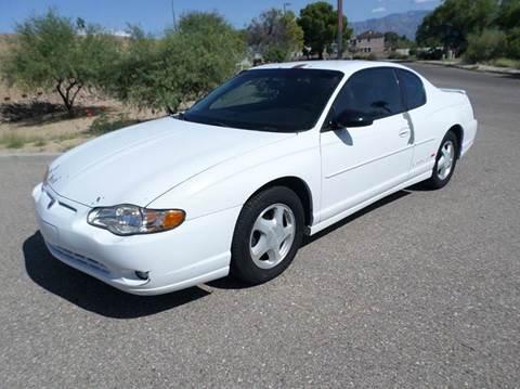 2000 Chevrolet Monte Carlo for sale in Tucson, AZ
