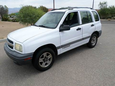 2002 Chevrolet Tracker for sale in Tucson, AZ