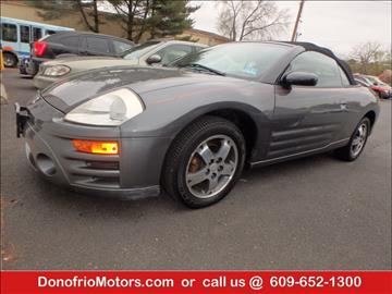 2003 Mitsubishi Eclipse Spyder for sale in Galloway, NJ