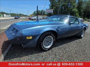 1979 Pontiac Firebird for sale in Galloway, NJ