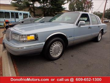 1997 Lincoln Town Car for sale in Galloway, NJ