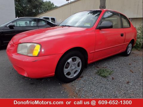2002 Hyundai Accent for sale in Galloway, NJ