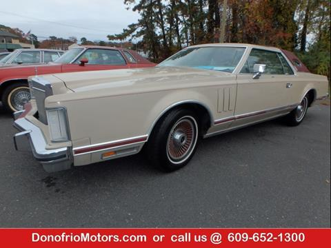 1979 Lincoln Continental for sale in Galloway, NJ