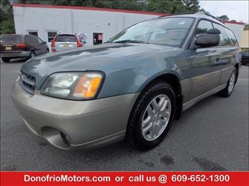 2002 Subaru Outback for sale in Galloway, NJ