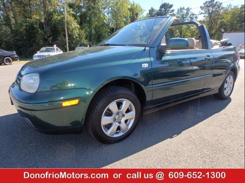 2002 Volkswagen Cabrio for sale in Galloway, NJ