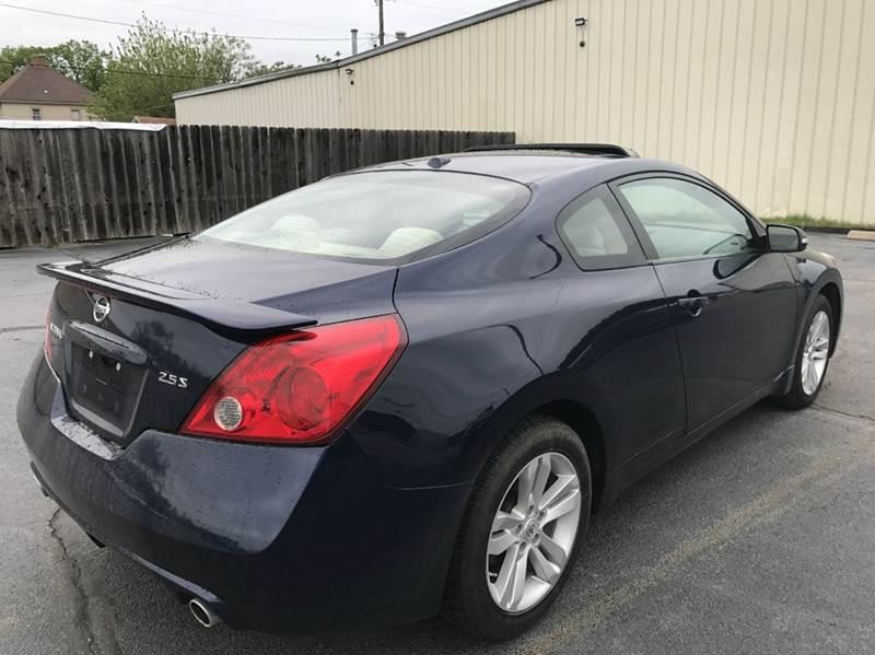 2012 Nissan Altima 2.5 S 2dr Coupe 6M - Wichita KS