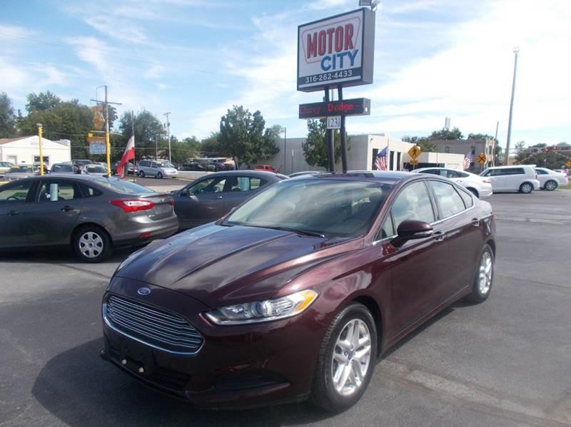 Motor City Sales Used Cars Wichita Ks Dealer