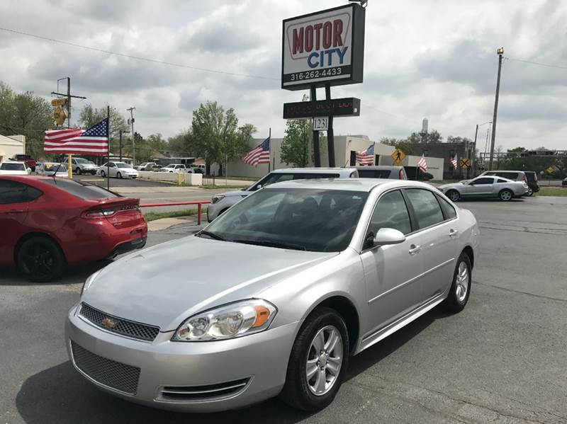 2012 Chevrolet Impala LS Fleet 4dr Sedan - Wichita KS