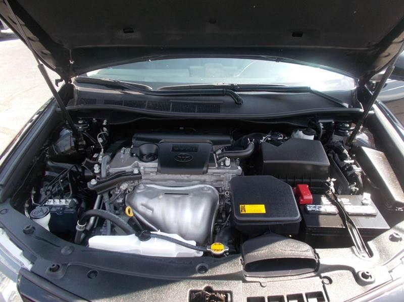 2012 Toyota Camry Se 4dr Sedan In Wichita Ks Motor City