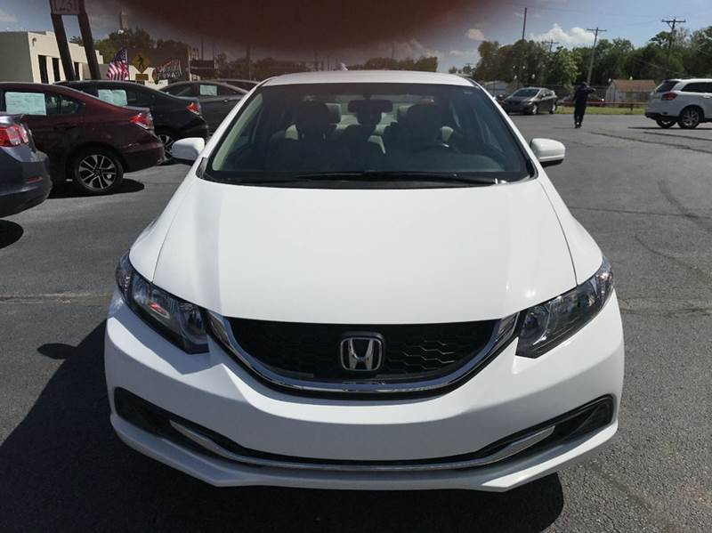 2015 Honda Civic LX 4dr Sedan CVT - Wichita KS