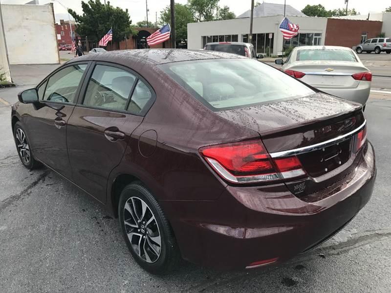 2015 Honda Civic LX 4dr Sedan CVT - Wichita KS