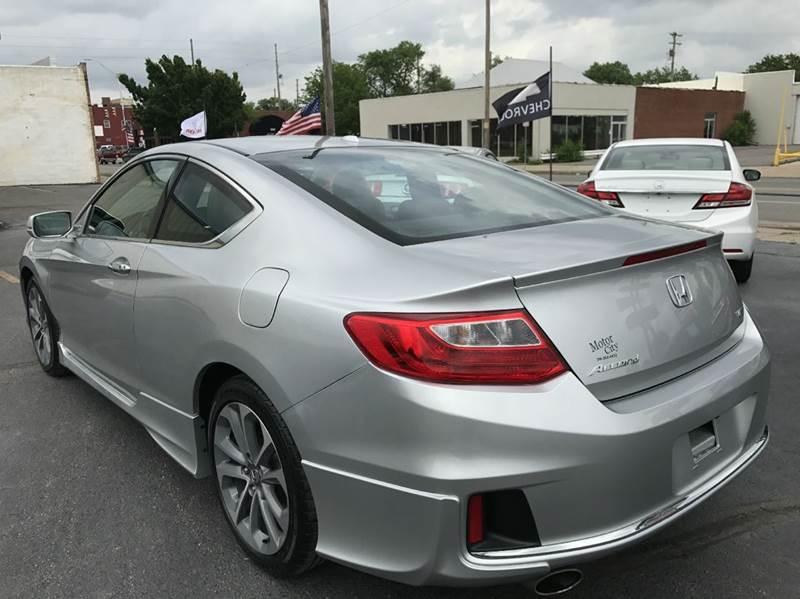 2014 Honda Accord EX-L V6 2dr Coupe 6A w/Navi - Wichita KS