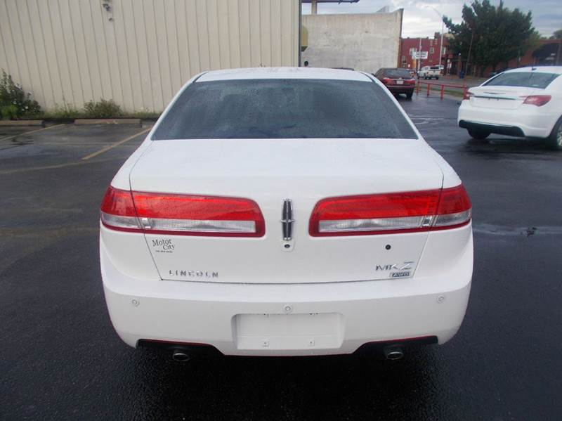 2011 Lincoln Mkz Awd 4dr Sedan In Wichita Ks Motor City