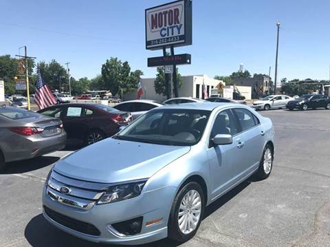 2011 Ford Fusion Hybrid for sale in Wichita, KS