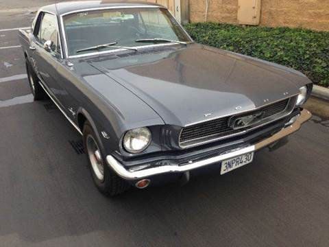 1966 Ford Mustang for sale in Tustin, CA