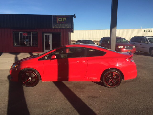 2012 Honda Civic Si W/Summer Tires 2dr Coupe Tires   Idaho Falls ID