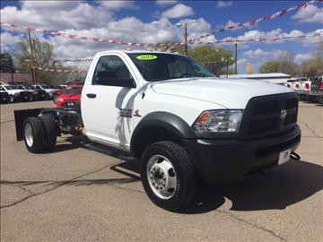 2014 RAM 4500 HD Chassis