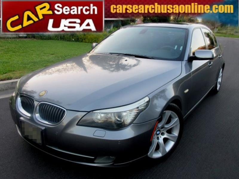 2008 BMW 5 Series 535i Luxury