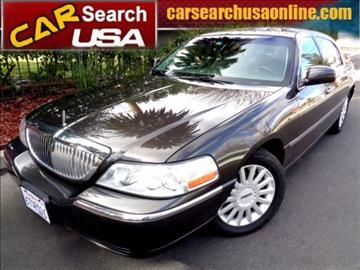 2005 Lincoln Town Car for sale in North Hollywood, CA