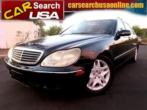2000 Mercedes-Benz S-Class for sale in North Hollywood, CA