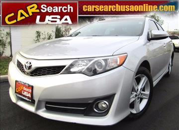 2013 Toyota Camry for sale in North Hollywood, CA