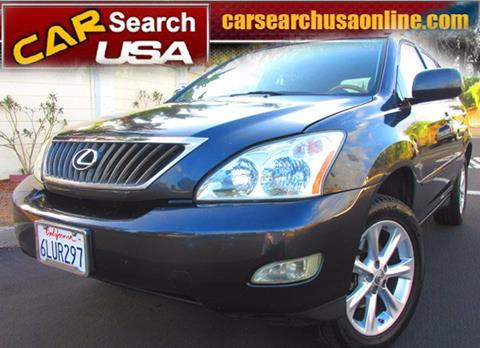 2009 Lexus RX 350 for sale in North Hollywood, CA