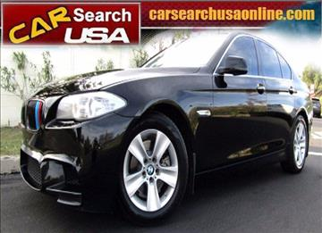 2013 BMW 5 Series for sale in North Hollywood, CA
