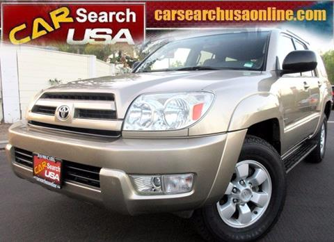 2004 Toyota 4Runner for sale in North Hollywood, CA