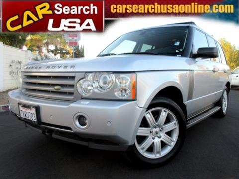 2006 Land Rover Range Rover for sale in North Hollywood, CA