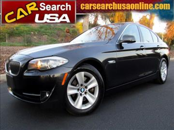 2011 BMW 5 Series for sale in North Hollywood, CA