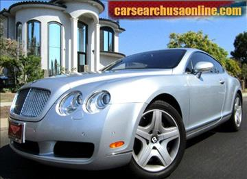 2005 Bentley Continental GT for sale in North Hollywood, CA