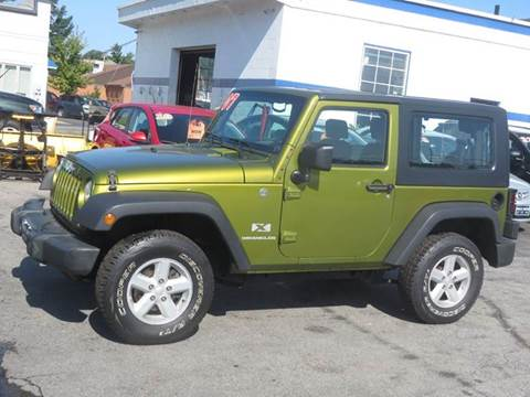 2007 Jeep Wrangler for sale in New Hampton, NH