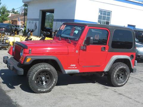2005 Jeep Wrangler for sale in New Hampton, NH