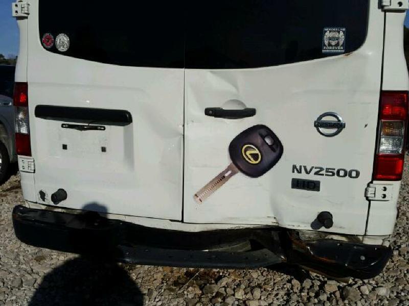 2013 Nissan NV Cargo 2500 - Brookland AR