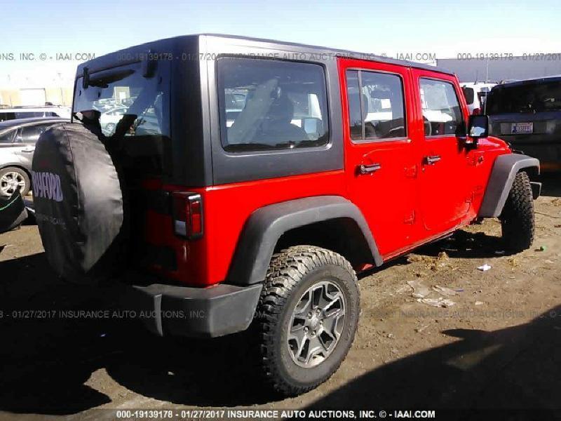 2016 Jeep Wrangler Unlimited 4x4 Sport RHD 4dr SUV - Brookland AR