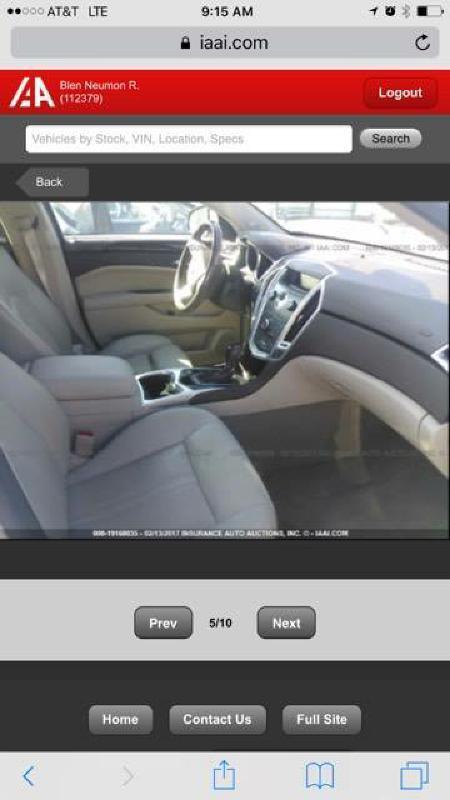2012 Cadillac SRX Luxury Collection 4dr SUV - Brookland AR