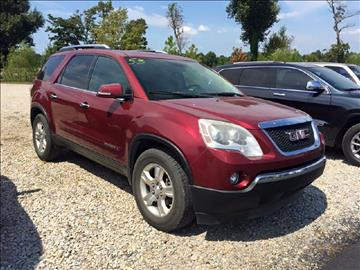 Gmc acadia for sale arkansas for Andy yeager motors in harrison arkansas