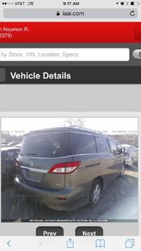 2016 Nissan Quest for sale in Brookland, AR