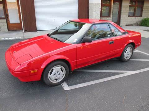 1986 Toyota MR2 for sale in Upland, CA