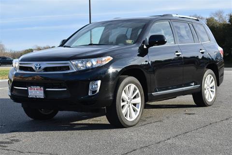 2013 Toyota Highlander For Sale >> 2013 Toyota Highlander Hybrid For Sale In Fredericksburg Va