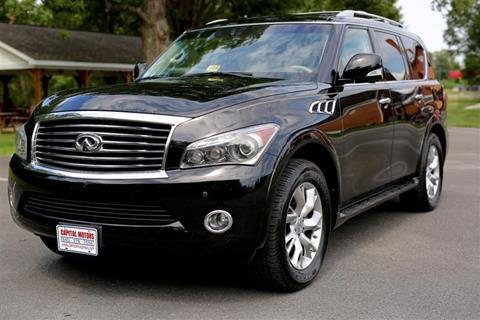 2012 Infiniti QX56 for sale in Fredericksburg, VA