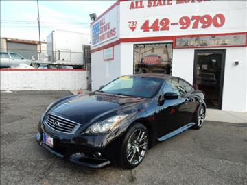 2013 Infiniti G37 Coupe for sale in Perth Amboy, NJ