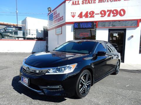 2017 Honda Accord for sale in Perth Amboy, NJ