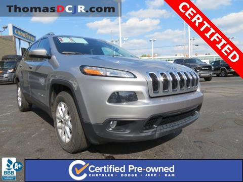 2015 Jeep Cherokee for sale in Highland, IN