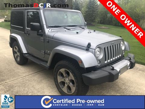 2017 Jeep Wrangler for sale in Highland, IN