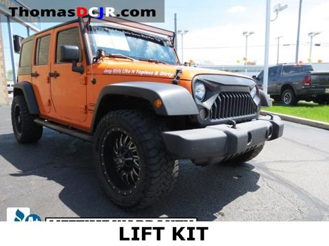 2013 Jeep Wrangler Unlimited for sale in Highland, IN