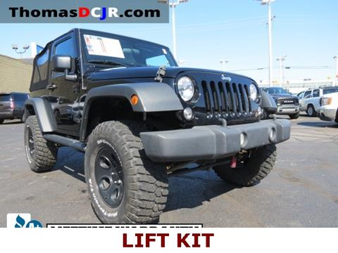 2015 Jeep Wrangler for sale in Highland, IN