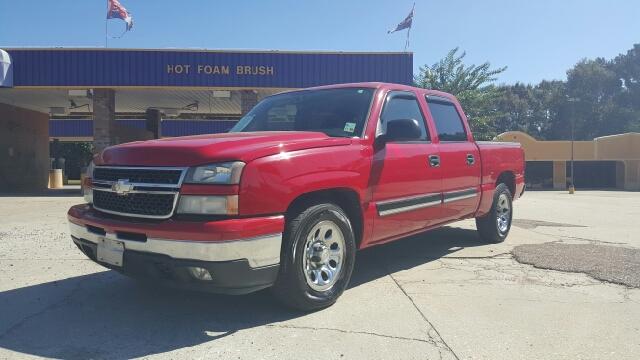 2006 CHEVROLET SILVERADO 1500 LT1 4DR CREW CAB 58 FT SB red 2006 chevy silverado lt 2 wheel dri