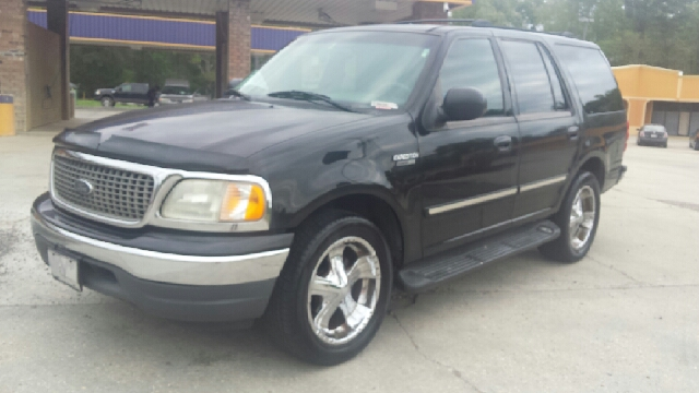 2000 FORD EXPEDITION XLT 4DR SUV black abs - 4-wheel adjustable pedals - power axle ratio - 35