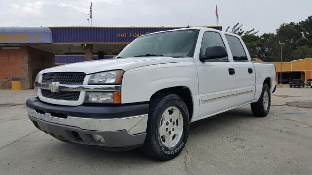 2005 CHEVROLET SILVERADO 1500 LT 4DR CREW CAB RWD SB white 05 chevy silverado lt crew cab fully